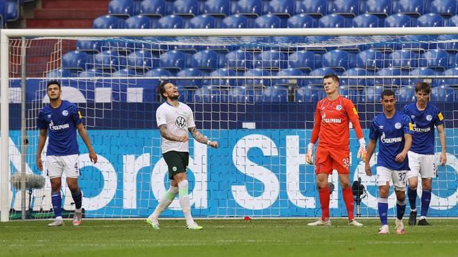 Schalkes Horrorserie setzt sich auch gegen den VfL Wolfsburg fort