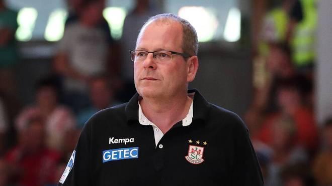 Magdeburgs Geschäftsführer Marc-Henrik Schmedt sieht eine WM-Austragung kritisch