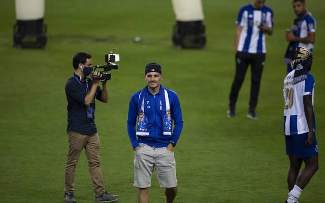 Iker Casillas feiert mit Porto den portugiesischen Meistertitel