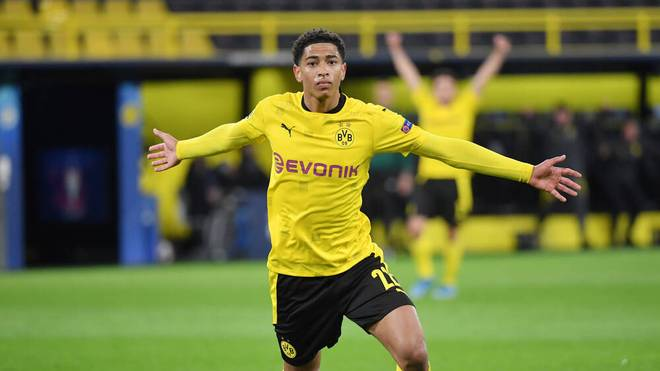 Jude Bellingham ist jetzt der jüngste Torschütze der Dortmunder Champions-League-Geschichte