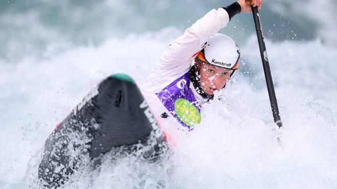 Andrea Herzog gewann WM-Gold im Kanu-Slalom
