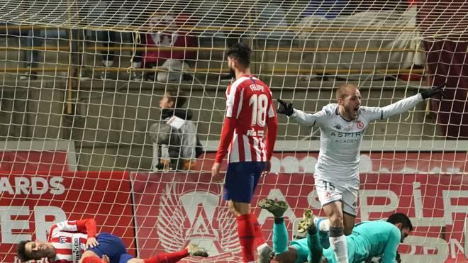 Atlético Madrid scheiterte im Pokal an Cultural Leonesa