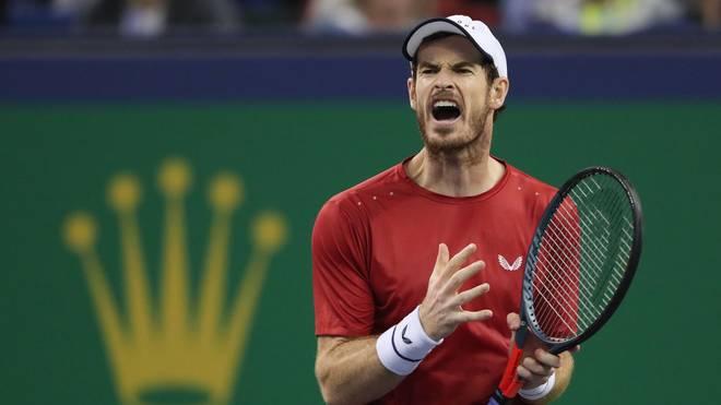 Andy Murray siegt bei seinem ersten Match in Shanghai