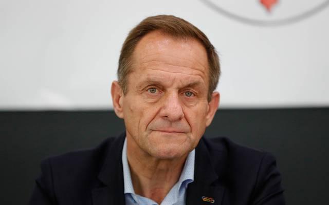 Bereits seit 2013 ist Alfons Hörmann als DOSB-Präsident im Amt