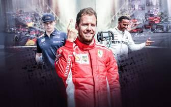 Formel 1 2018: Zwischenbilanz vor Deutschland-GP mit Sebastian Vettel und Lewis Hamilton