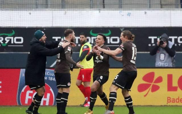 Der FC St. Pauli gewann in Heidenheim mit 4:3