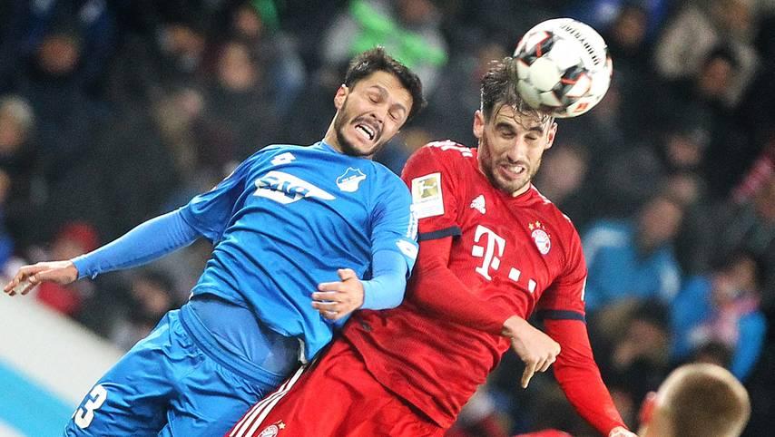 100 Siege! Javi Martinez durfte zum Rückrundenauftakt des FC Bayern gegen die TSG Hoffenheim von Beginn an ran - und stellte mit Abpfiff einen neuen Rekord auf