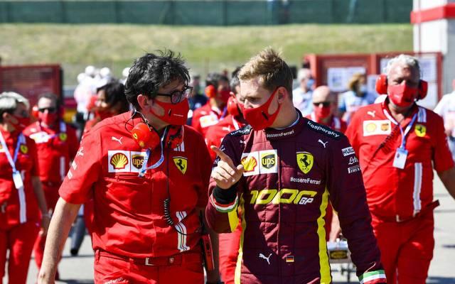 Mick Schumacher ist als Mitglied der Junior Academy schon fester Bestandteil von Ferrari