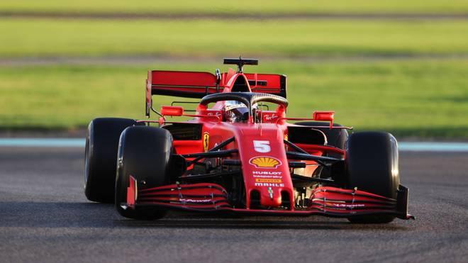Sebastian Vettel fährt in Abu Dhabi zum letzten Mal für Ferrari