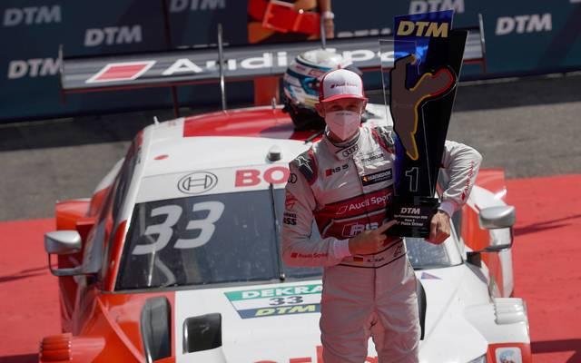 Rene Rast soll beim DTM-Rennen in Spa geschummelt haben