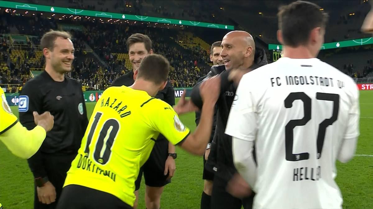 "Schubert foppt Hazard: ""Du A****gesicht!"""