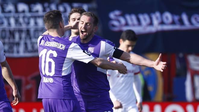 VfL Osnabrueck v Hallescher FC - 3. Liga