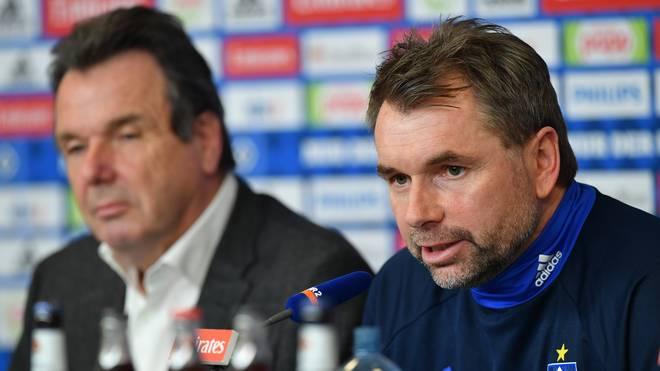 Hamburger SV Unveils New Signing Head Coach Bernd Hollerbach