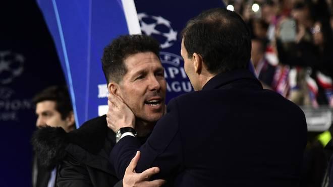 Die UEFA hat gegen Diego Simeone (links) und Massimiliano Allegri (rechts) ein Verfahren eingeleitet