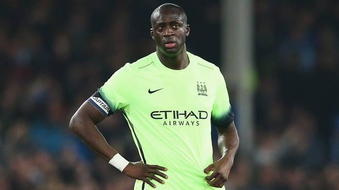 Yaya Toure steht bei Manchester City unter Vertrag