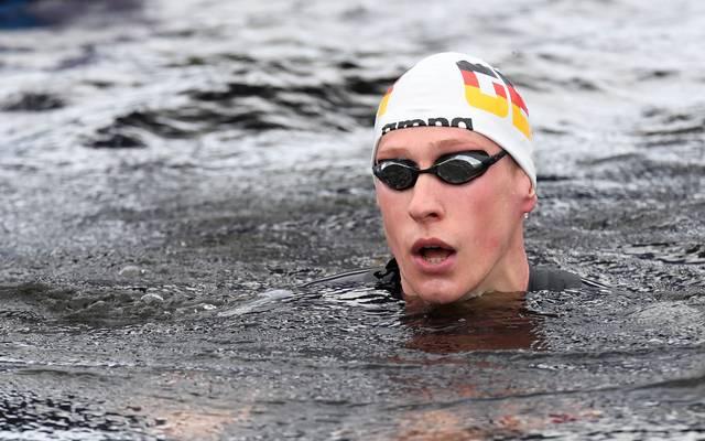 Florian Wellbrock ist die große deutsche Hoffnung bei der Schwimm-WM