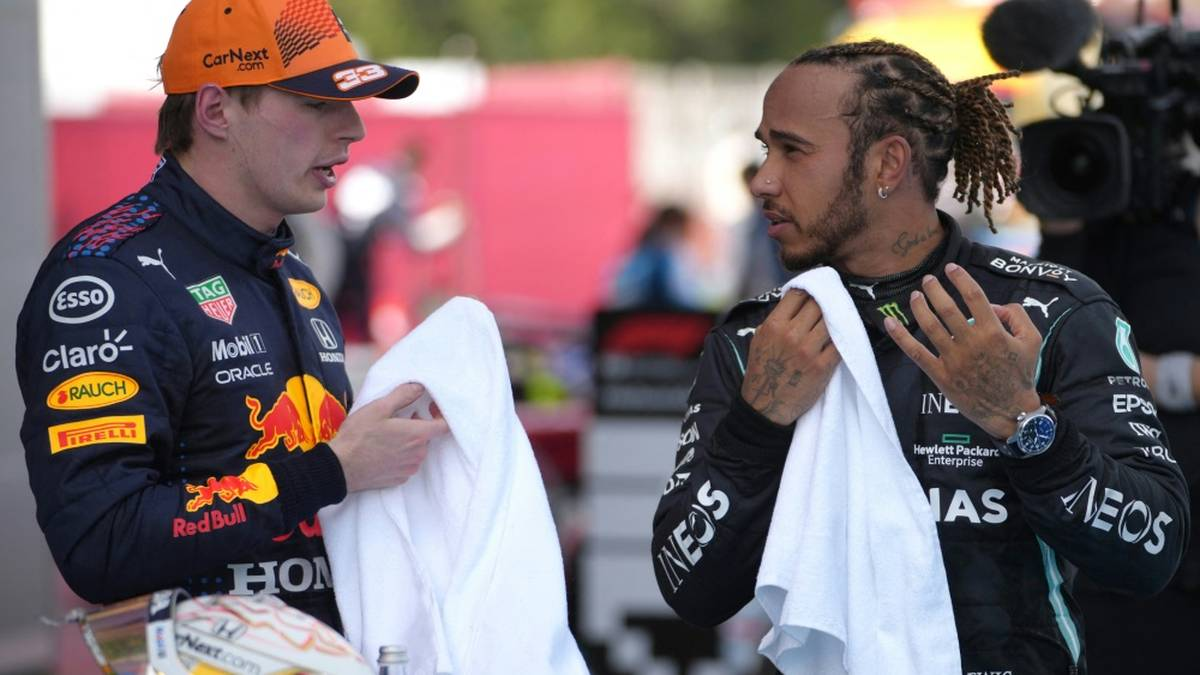 Hamilton und Verstappen kämpfen um den WM-Titel