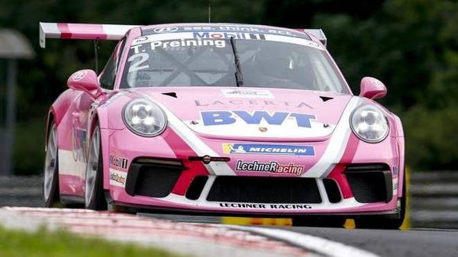Thomas Preining war im Qualifying auf dem Hungaroring der Schnellste