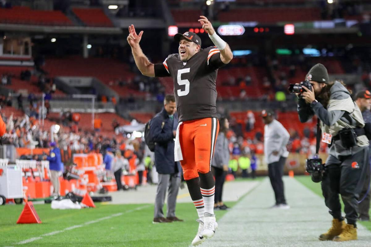 Cleveland Browns lassen sich in der NFL auch von den Denver Broncos nicht stoppen. Baker Mayfields Ersatz Case Keenum übernimmt Verantwortung.