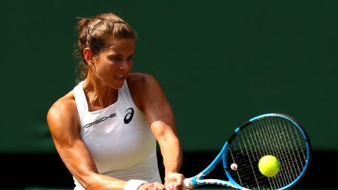 Julia Görges ist die Nummer zehn der Weltrangliste
