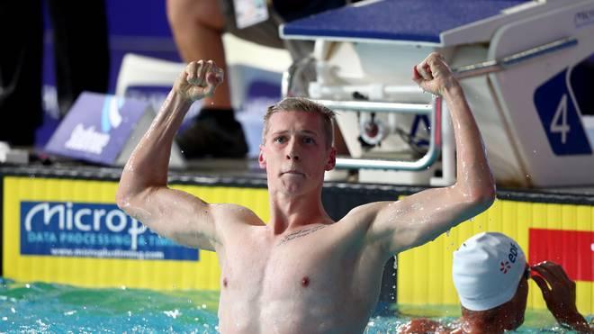 Florian Wellbrock hat bei der Schwimm-EM überraschend die Goldmedaille gewonnen