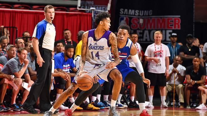 Brandon Ingram in der NBA Summer League für die Los Angeles Lakers