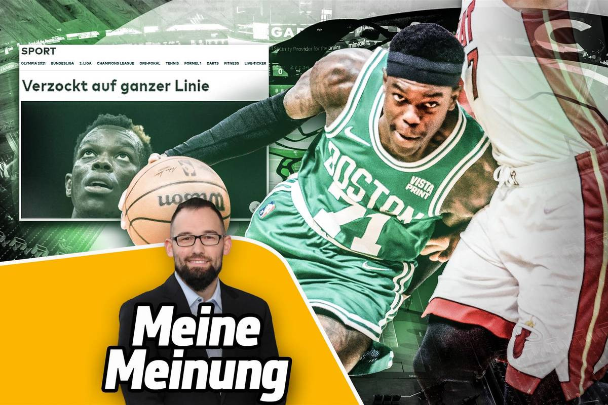 Dennis Schröder tritt mit einer 84-Millionen-Last bei den Celtics an, um sich zu rehabilitieren. Warum das eine große Chance ist, kommentiert SPORT1-Redakteur Raphael Weber.