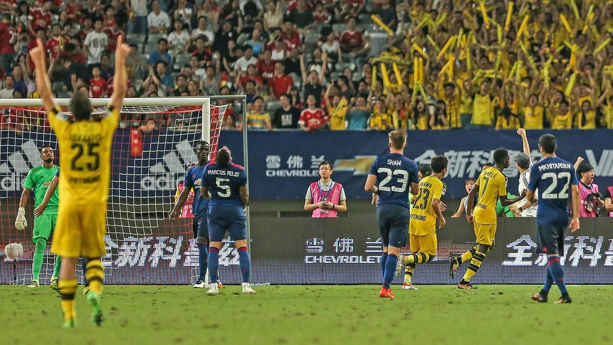 Dembele, BVB, Dortmund, Manchester United
