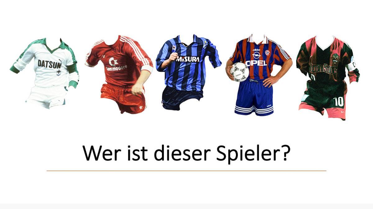 Er spielte für Gladbach, Bayern, Inter und New York: Dieser Spieler ist beim Trikot-Bingo gesucht.