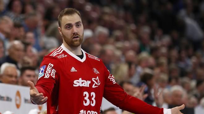 Andreas Wolff warnt vor dem TSV GWD Minden