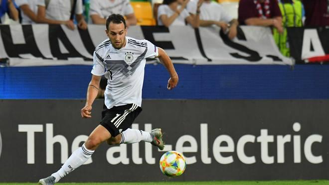 U21-EM: Deutschland, Levin Öztunali am Ball