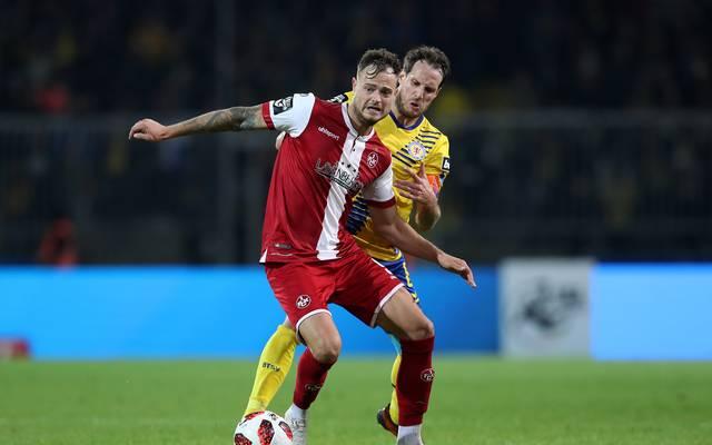 Eintracht Braunschweig v 1. FC Kaiserslautern - 3. Liga Timmy Thiele hat zuletzt zwei Mal in Folge für die Roten Teufel getroffen