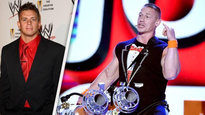Heißes Thema bei WWE Monday Night RAW: die Feindschaft zwischen John Cena (r.) und Alex Riley