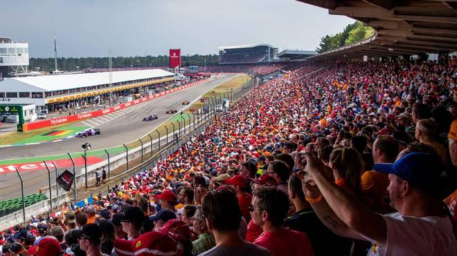 In Hockenheim waren 2018 erstmals seit zehn Jahren wieder mehr als 70.000 Zuschauer beim Rennen dabei