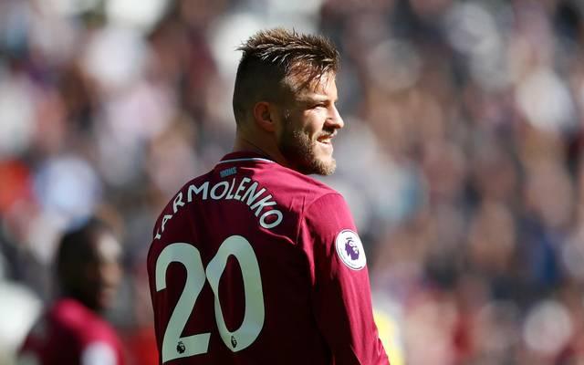 Premier League: Andrij Jarmolenko erleidet Achillessehnenriss, Andrij Jarmolenko spielt seit dieser Saison für West Ham United