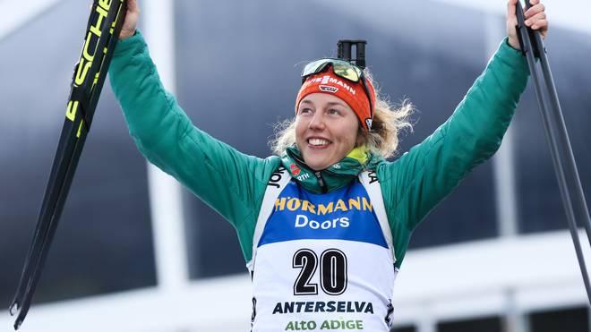 Biathlon-WM: Deutsches Aufgebot mit Dahlmeier, Preuß, Peiffer, Lesser , Laura Dahlmeier gewann 2017 fünf Goldmedaillen bei der WM in Hochfilzen