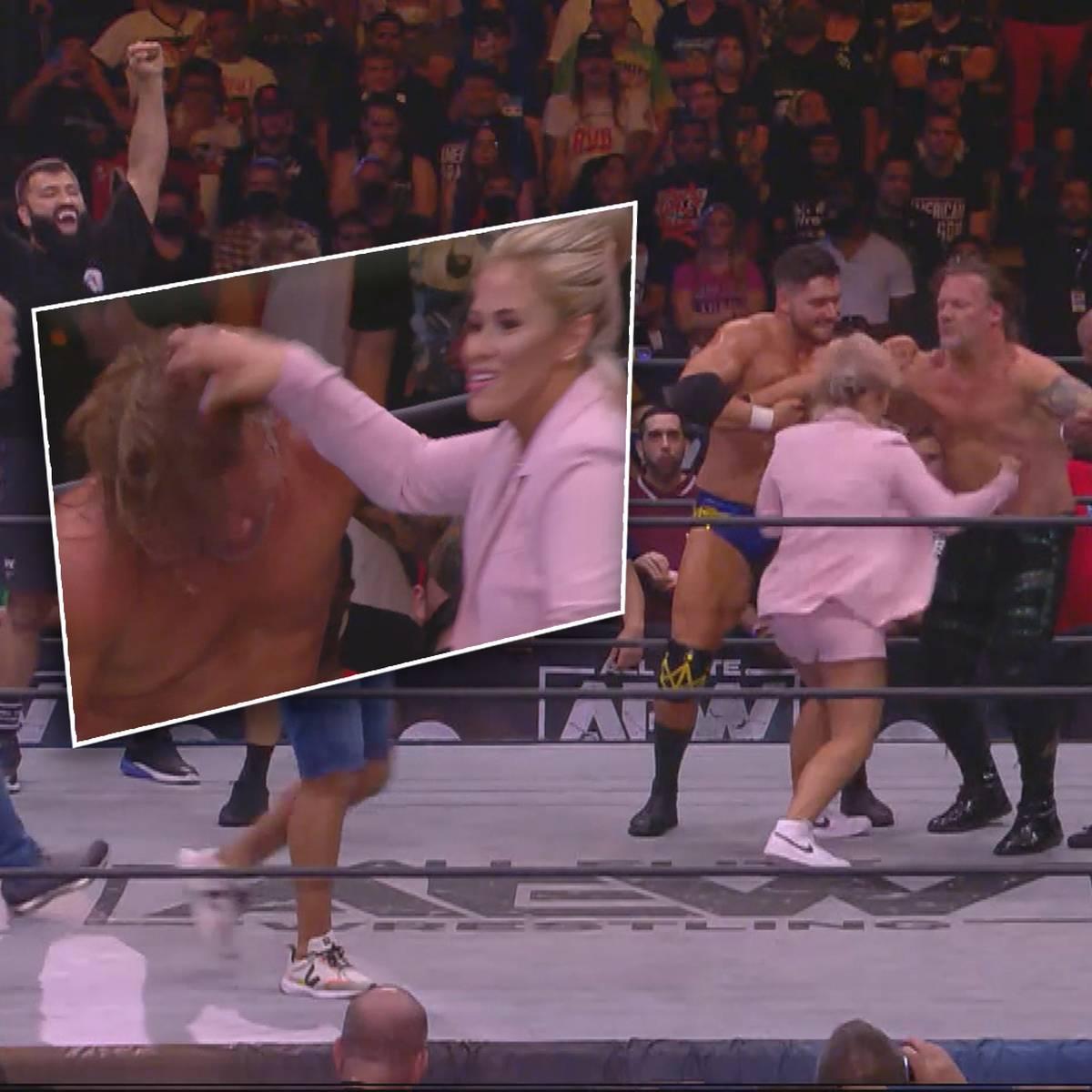 Debüt-Auftritt! Hier demütigt Paige VanZant eine Wrestling-Legende