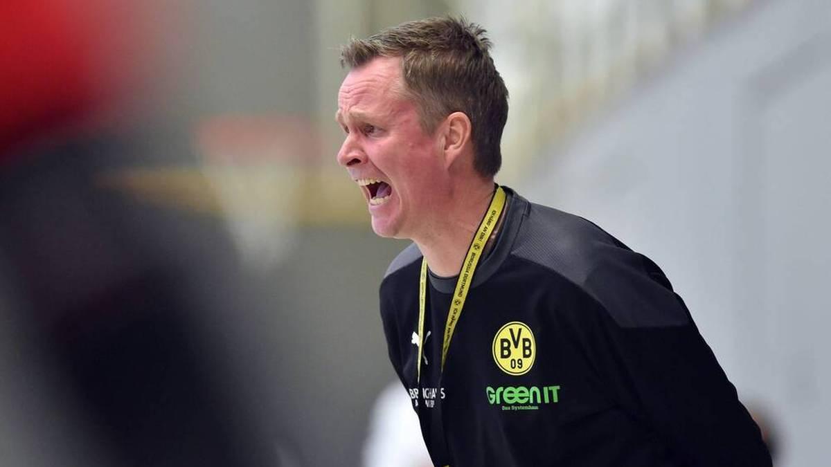 Trainer André Fuhr war bedient