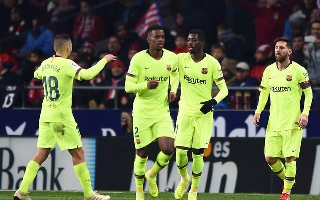 Spiel in Miami: Spanischer Ligaverband klagt gegen Fußball-Verband, Der FC Barcelona liegt in der spanischen Liga derzeit auf Platz zwei