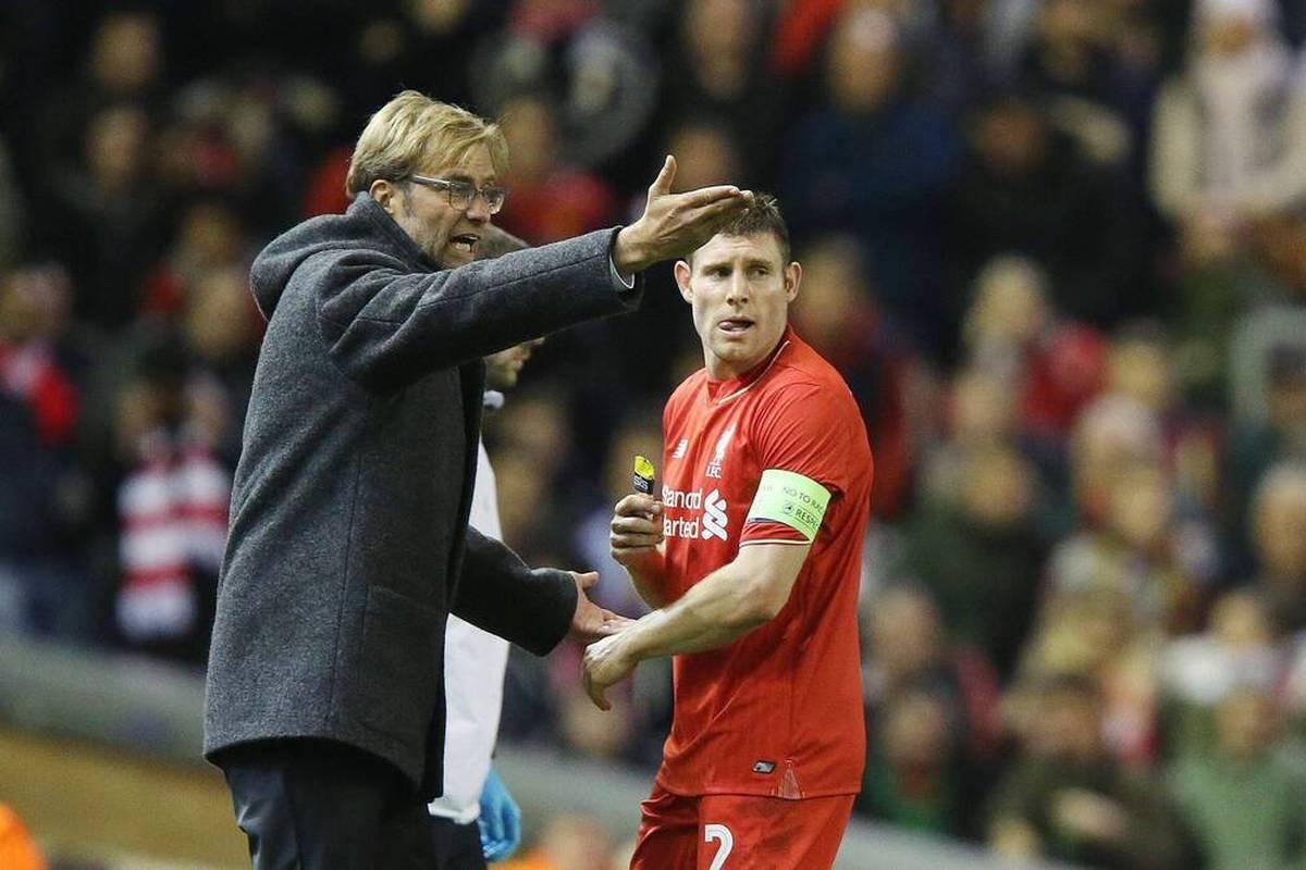 Der Coach des FC Liverpool und Kapitän James Milner lieferten sich einst fast eine handfeste Auseinandersetzung, wie Ex-Spieler Klavan nun verrät.