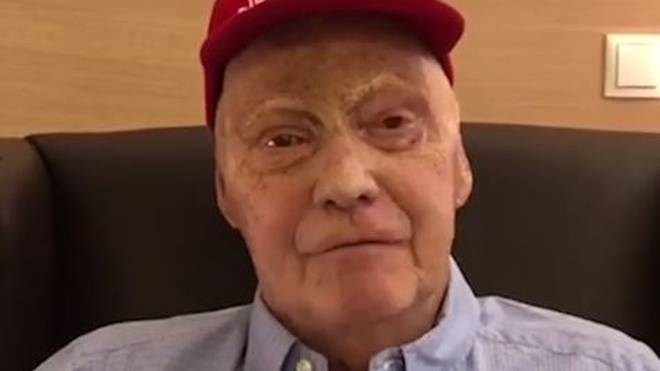 Niki Lauda musste sich einer Lungenoperation unterziehen