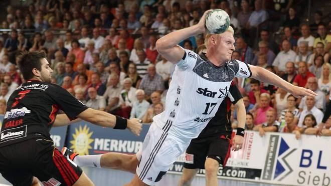 Patrick Wiencek steuerte fünf Tore zum Auftaktsieg des THW Kiel bei