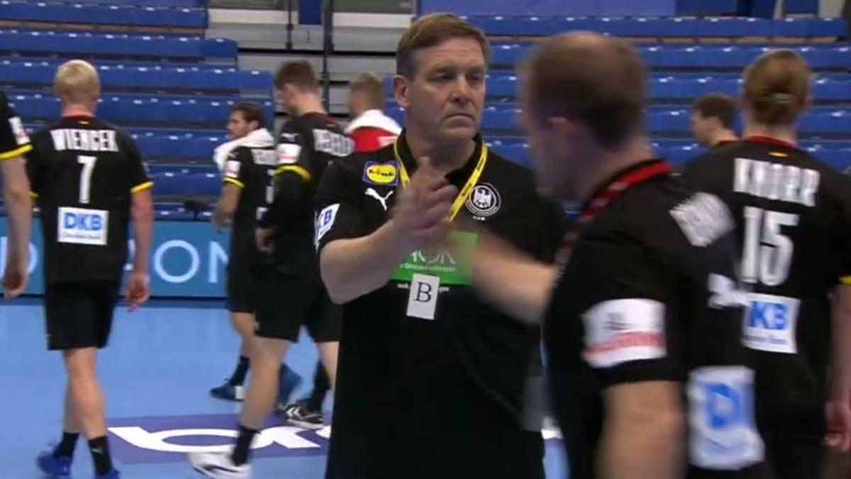 Die deutsche Handball-Nationalmannschaft gewinnt gegen Estland in der EM-Qualifikation
