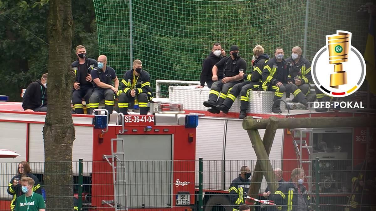 Sensation verpasst: Auch Feuerwehr hilft Todesfelde nicht