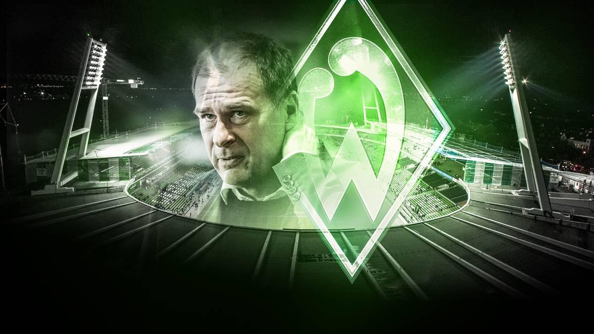 Werders Kaufmännischer Geschäftsführer Klaus Filbry ist aktuell nicht zu beneiden