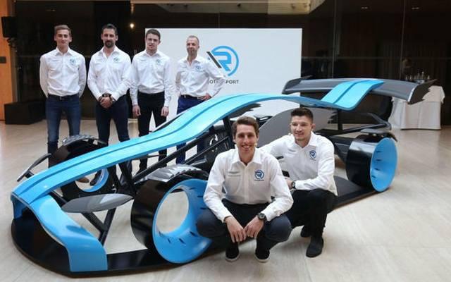 Noch ohne Rennwagen: Das Aufgebot von Aston Martin für die DTM 2019