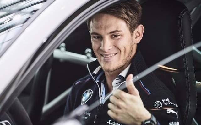 Marco Wittmann hat einen neuen Privatwagen