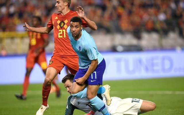 Arnaut Danjuma traf zum Ausgleich für die Niederlande