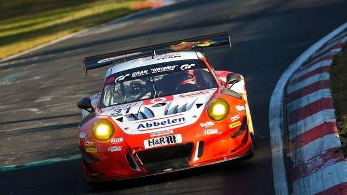 Frikadelli Racing bei VLN9 mit nur einem Porsche