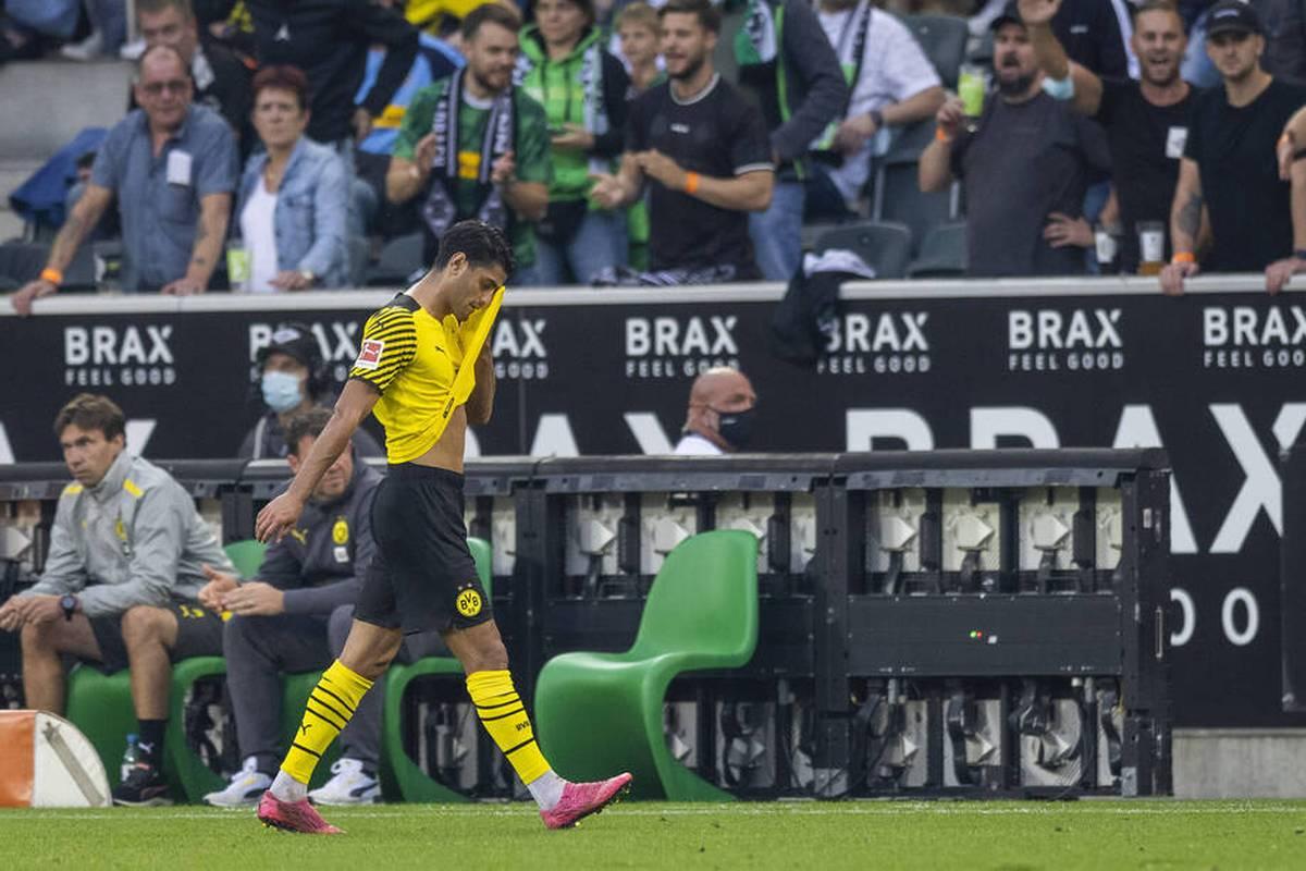 BVB-Profi Mo Dahoud entschuldigt sich nach seiner unnötigen Gelb-Roten-Karte gegen Gladbach. Der Nationalspieler richtet den Blick nach vorne.